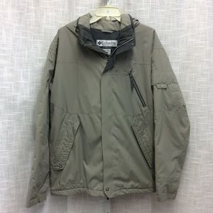 Men's Columbia Hooded Coat Size L